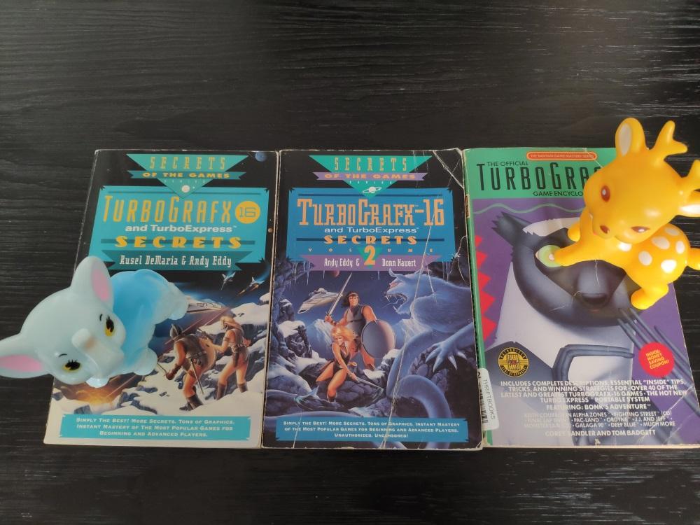 Les bibles TurboGrafx-16